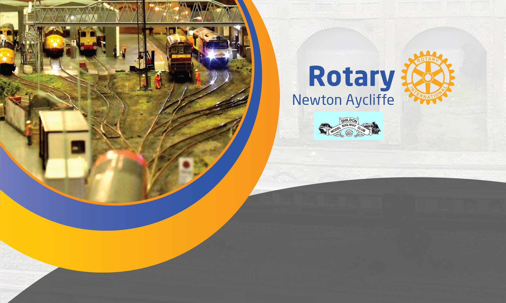 Rotary Newton Aycliffe                        Virtual Railway Exhibition